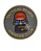 Шеврон Tactical Beard Owners Club