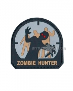 Шеврон Zombie Hunter Grey