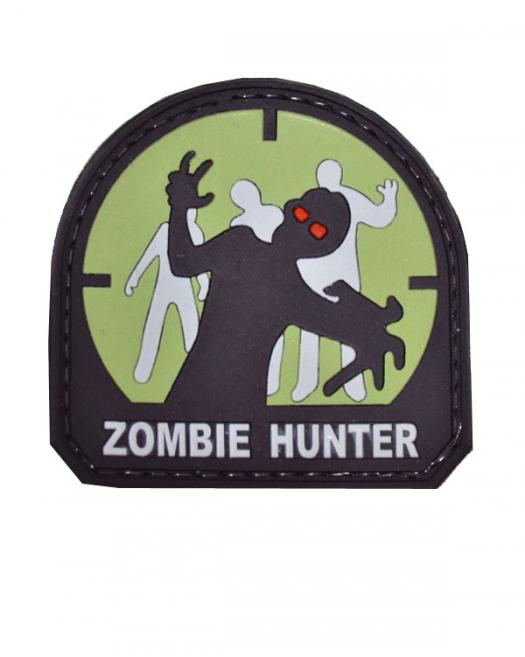 Шеврон Zombie Hunter Green