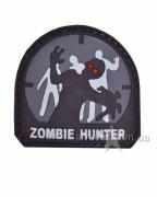 Шеврон Zombie Hunter Black
