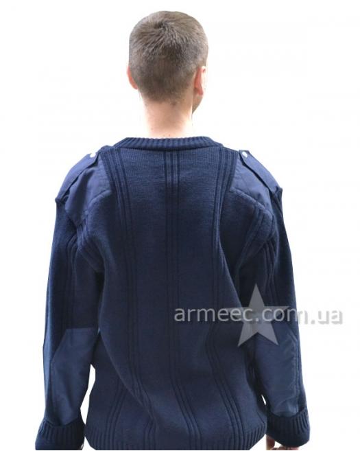 Свитер военный форменный Синий А2