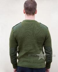 Военный свитер форменный Олива А1