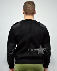 Свитер военный форменный Черный Полиция А3