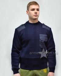 Свитер военный форменный Синий ДСНС А1