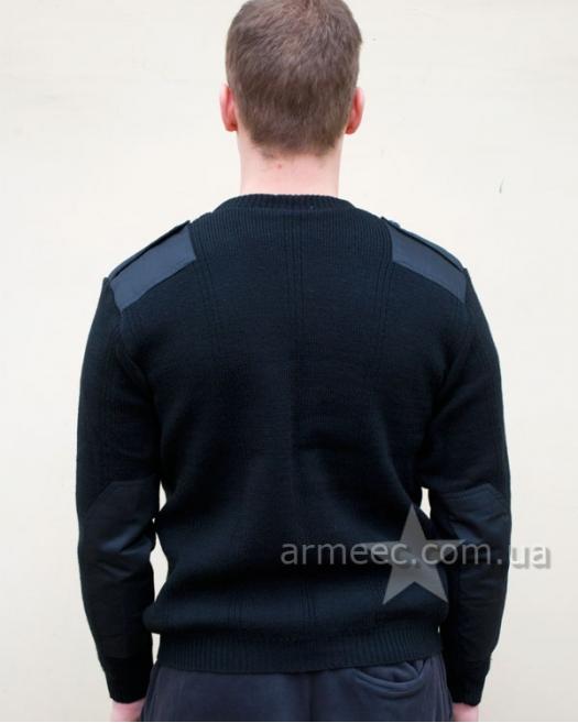 Свитер военный форменный Черный Полиция А2