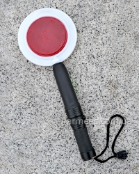 Полицейский жезл-отмашка с фонариком G7