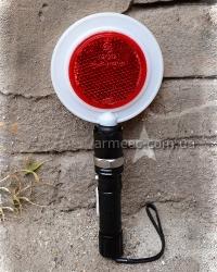 Полицейский жезл-отмашка с фонариком G4