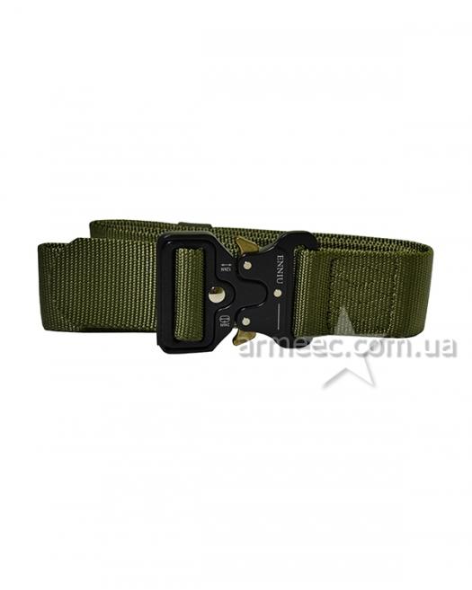 Ремень текстильный Tactical Belt Olive-1