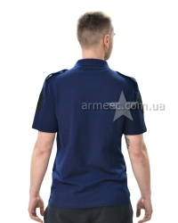Футболка поло Dark Blue lacoste-1