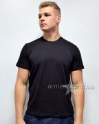 Черная футболка полиция А3