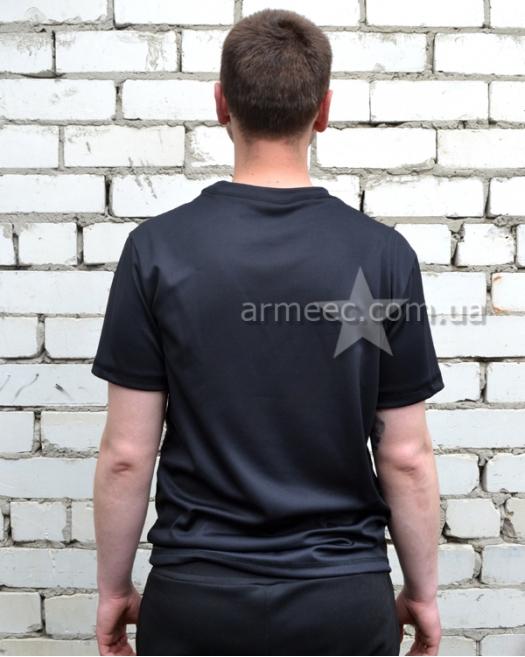 Футболка полиции Coolpass Black-1