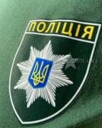 Футболка зеленая полиция