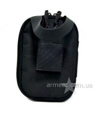 Аптечка армейская Черная A4