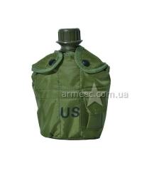 Фляга+котелок US 4834-0 Olive