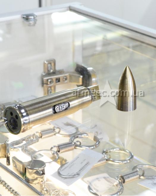 Фонарик брелок пуля USB 9017