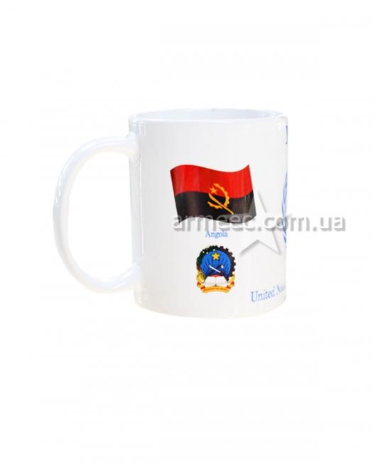 Чашка Миротворческая миссия Ангола