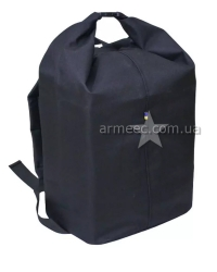 Сумка-рюкзак прорезиненная Черная