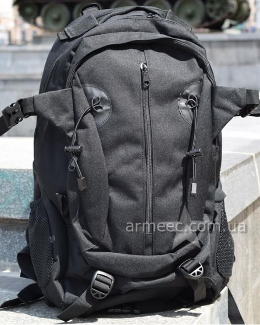 Рюкзак штурмовой Black 30 л