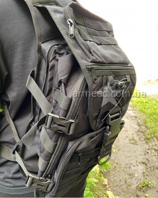 Рюкзак тактический Black 30 л