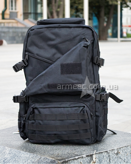 Рюкзак тактический SILVER KNIGHT Black 40 л