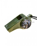 Свисток с компасом и термометром H3-1