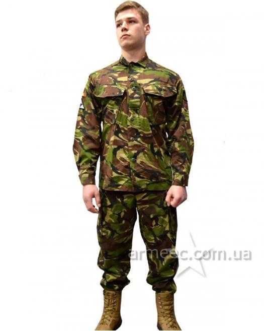 Камуфляжный костюм DPM, форма dpm
