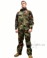 Маскировочный костюм Woodland