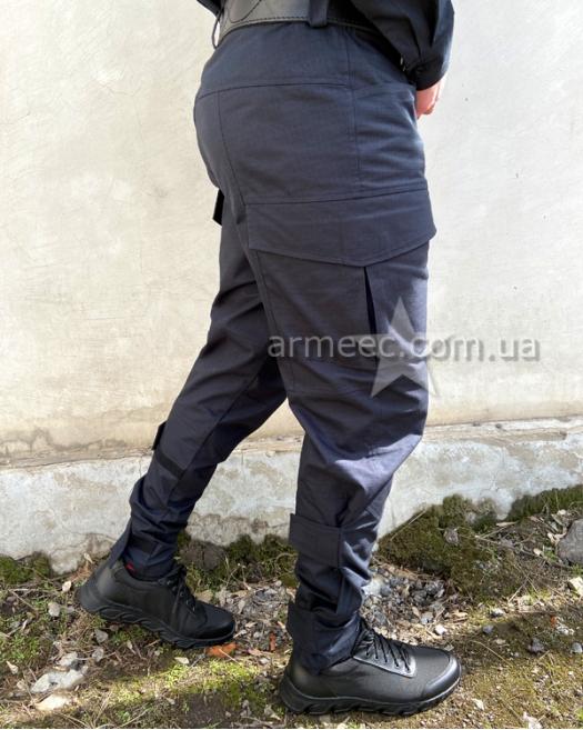 Форма полиции Украины темно-синяя