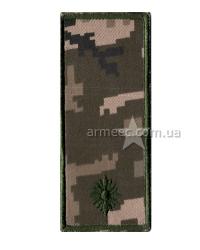 Погон ЗСУ младший лейтенант s10
