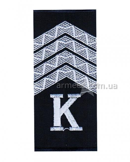 Погоны полиции курсант-старший сержант M2