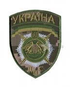 Шеврон ДПС Украина R9